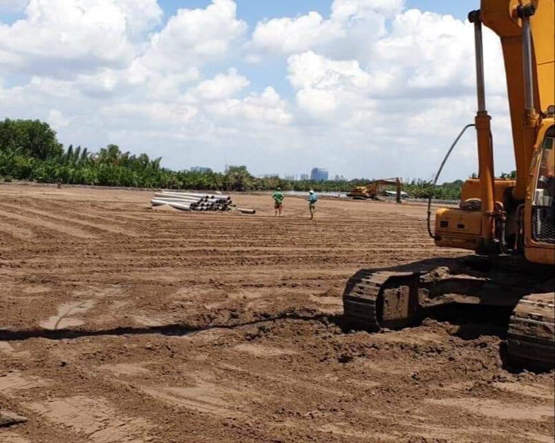 Cần bán 273 m2 đường bê tông xã Phú Đông