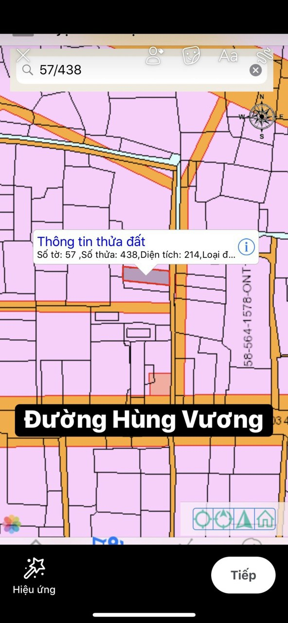 Cần bán 8 x 26 = 214 m2 hẻm 1 sẹc xã Vĩnh Thanh – 2.5 tỷ trọn sổ